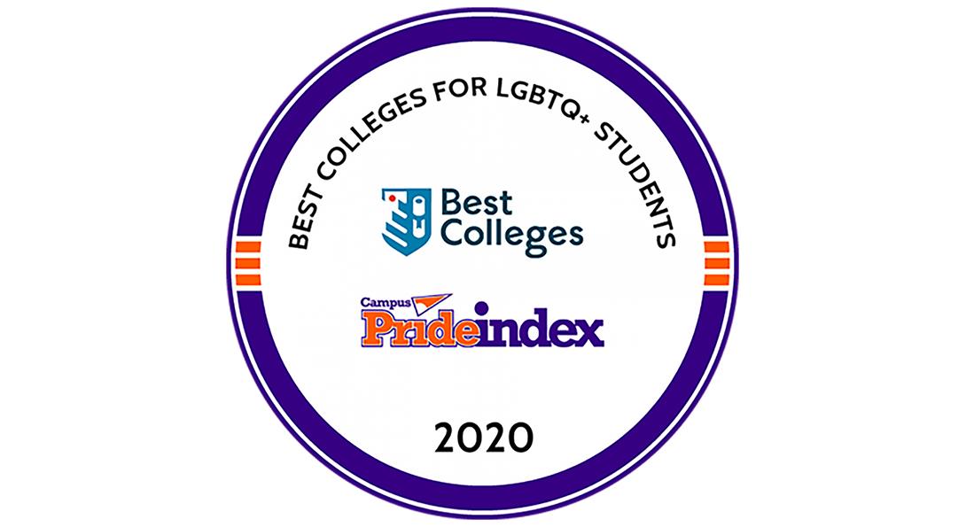 Circular Campus Pride Index Logo with text on top