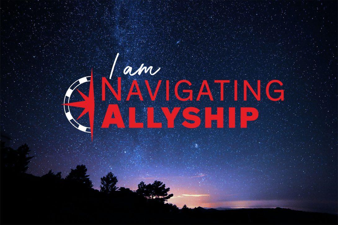Navigating Allyship logo